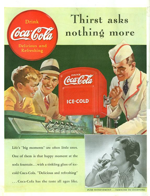 coca cola advertisement essay